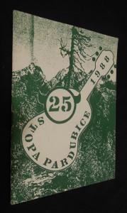 náhled knihy - Stopa Pardubice 25 (1988)