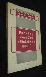 náhled knihy - Počátky českého dělnického hnutí