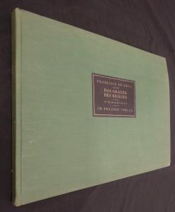 náhled knihy - Das Grauen, Des Krieges (85 RadieRungen)