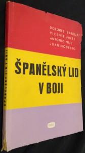náhled knihy - Španělský lid v boji