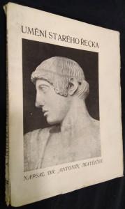 náhled knihy - Umění starého Řecka