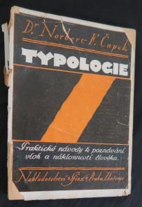 náhled knihy - Typologie : praktický návod k poznávání vloh a náklonnosti člověka