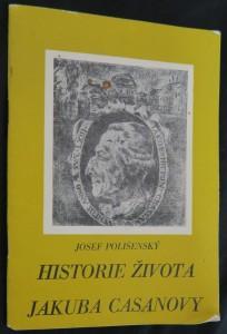 náhled knihy - Historie života Jakuba Casanovy
