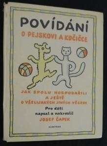 náhled knihy - Povídání o pejskovi a kočičce jak spolu hospodařili a ještě o všelijakých jiných věcech