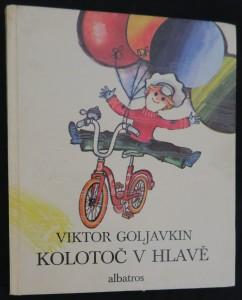 náhled knihy - Kolotoč v hlavě