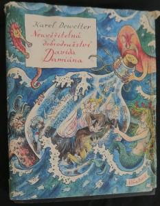 náhled knihy - Neuvěřitelná dobrodružství Davida Damiána : pro čtenáře od 10 let