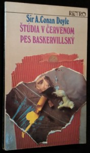 náhled knihy - Štúdia v červenom ; Pes baskervillský