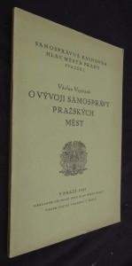náhled knihy - O vývoji samosprávy pražských měst