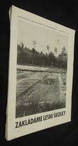 náhled knihy - Zakládáme lesní školky