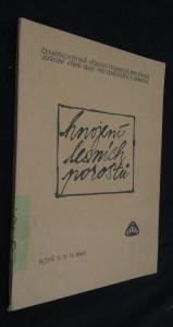 náhled knihy - Hnojení lesních porostů : sborník referátů z konference konané v Plzni ve dnech 9.-11. listopadu 1965