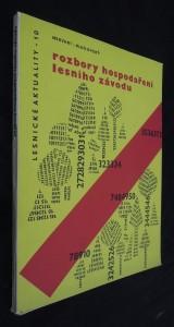 náhled knihy - Rozbory hospodaření lesního závodu
