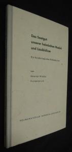 náhled knihy - Das Saatgut unserer heimischen Nadel-und Laubhölzer - Ein forstbiologisches Kalendarium
