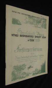náhled knihy - Vývoj hospodárskej úpravy lesov v ČSSR