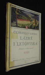 náhled knihy - Československé lázně i letoviska (almanach čsl. lázní a letovisek)