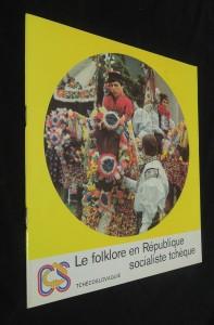 náhled knihy - Le folklore en République socialiste tchéque