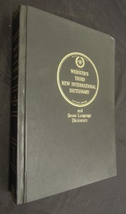 náhled knihy - Webster´s Third New International Dictionary and Seven Language Dictionary : volume III. S to Z