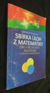 náhled knihy - Sbírka úloh z matematiky pro obchodní akademie