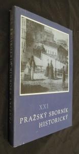 náhled knihy - Pražský sborník historický  XXI