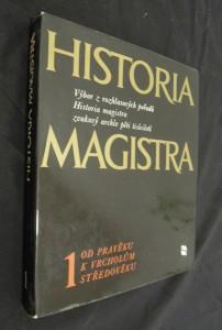 náhled knihy - Historia magistra : Výběr z rozhlasových pořadů Historia magistra, zvukový archív pěti tisíciletí. (1. a 2. díl)