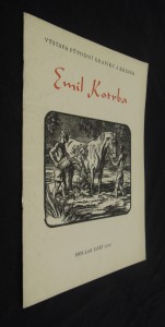 náhled knihy - Emil Kotrba : Výstava drobné pův. grafiky, Praha, únor 1967 : Katalog