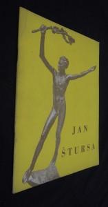 náhled knihy - Výstava životního díla sochaře Jana Štursy : seznam vystavených prací