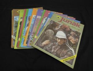 náhled knihy - Junák : časopis skautů a skautek (ročník 35, číslo 1 - 22)