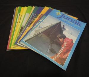 náhled knihy - Junák : časopis skautů a skautek (ročník 34, číslo 1 - 24)