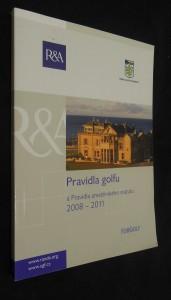 náhled knihy - Pravidla golfu : pravidla amatérského statutu 2008 - 2011