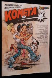 náhled knihy - Časopis Kometa, obrázkové seriály pro chlapce a děvčata č.2