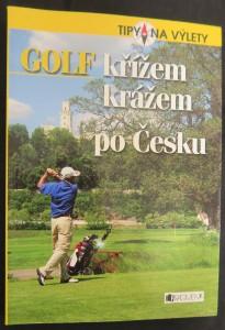 náhled knihy - Golf křížem krážem po Česku
