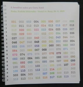 náhled knihy - Katalog k aukci - 5. benefiční aukce pro Cestu domů
