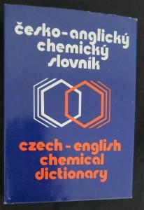 náhled knihy - Česko-anglický chemický slovník = Czech-english chemical dictionary