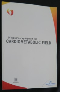 náhled knihy - Dictionary of eponyms in the Cardiometabolic field