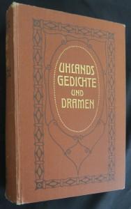 náhled knihy - Uhlands Gedichte und Dramen in zwei Bänden - 2. Band