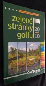 náhled knihy - Zelené stránky golfu - první kompletní přehled golfu