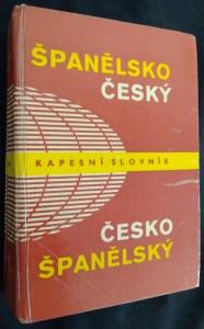 náhled knihy - Španělsko-český, česko-španělský kapesní slovník