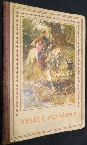 náhled knihy - Výbor veselých pohádek našich i cizokrajných