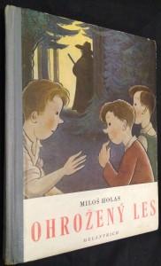náhled knihy - Ohrožený les