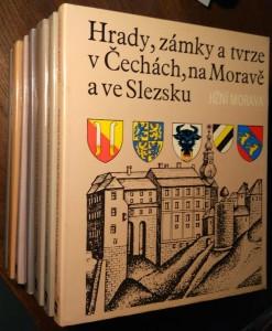 náhled knihy - Hrady, zámky a tvrze v Čechách, na Moravě a ve Slezsku (7 svazků)