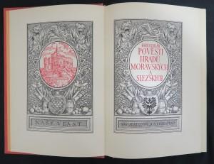 náhled knihy - Pověsti hradů moravských a slezských (2 svazky)