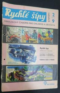 náhled knihy - Rychlé šípy: obrázkový časopis pro chlapce a děvčata (ročník II, 2/9)