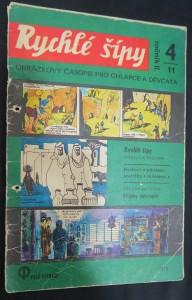 náhled knihy - Rychlé šípy: obrázkový časopis pro chlapce a děvčata (ročník II, 4/11)