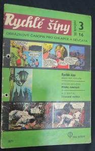 náhled knihy - Rychlé šípy: obrázkový časopis pro chlapce a děvčata (ročník III, 3/16)