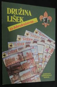 náhled knihy - Družina Lišek za dobrodružstvím : junácký obrázkový seriál