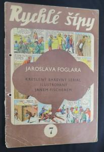 náhled knihy - Rychlé šípy: obrázkový časopis pro chlapce a děvčata (ročník I, číslo 7)