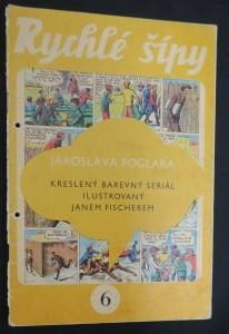náhled knihy - Rychlé šípy: obrázkový časopis pro chlapce a děvčata (ročník I, číslo 6)