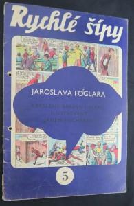 náhled knihy - Rychlé šípy: obrázkový časopis pro chlapce a děvčata (ročník I, číslo 5)