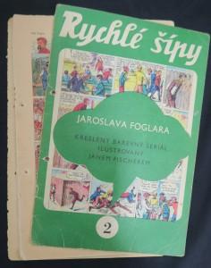 náhled knihy - Rychlé šípy: obrázkový časopis pro chlapce a děvčata (ročník I, číslo 2)