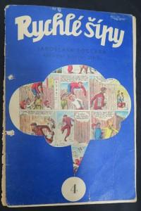 náhled knihy - Rychlé šípy: obrázkový časopis pro chlapce a děvčata (ročník I, číslo 4)