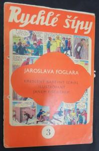 náhled knihy - Rychlé šípy: obrázkový časopis pro chlapce a děvčata (ročník I, číslo 3)
